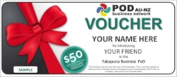 The PoD AU-NZ Business Network Rewards Members!