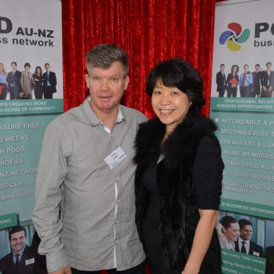 Phil White & Sophie Lee - Mairangi Bay Business PoD