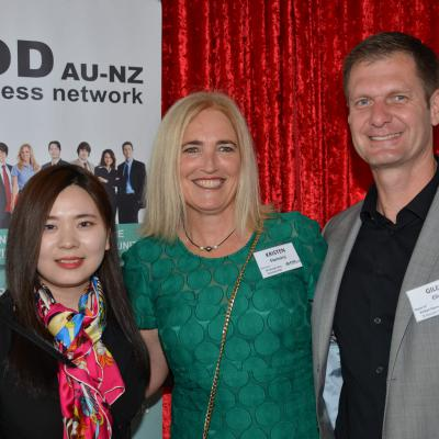 Layla Syou - Viaduct Harbour Business PoD, Kristen Flannery & Giles Ellis - St Georges Bay Business PoD