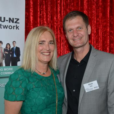 Kristen Flannery & Giles Ellis - St Georges Bay Business PoD