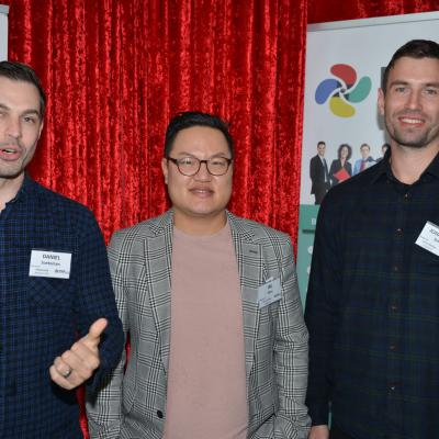 Daniel Soeteman, Jae Won & Jonathon Smith - Hobsonville Business PoD