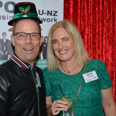 Frank Rangi & Kristen Flannery- Remuera-Newmarket Business PoD & St Georges Bay Business PoD