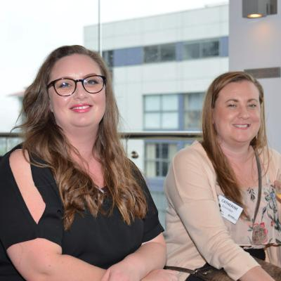 Catherine Ockenden & Alysha Bentley - New Lynn Business PoD