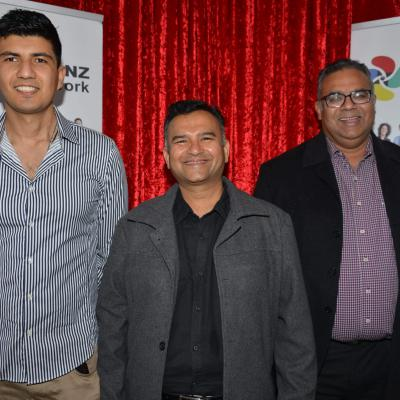Alex Aliev, Kaushik Gorasia, Rajdeep Sandhu - Mission Bay, Mt Eden & Half Moon Bay Business PoDs