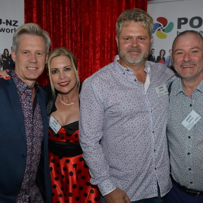 Sybrand Botes & Corrie Ekermans - Viaduct Harbour Business PoD + Jayne Albiston & Grant Dickson