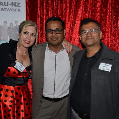 Jayne ALbiston + Hemant Parikh - Manukau Business PoD & Kaushik Gorasia - Mt Eden Business PoD